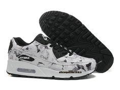 263412337270c Nike Air Max 90 ID Chaussure de Running Pour Femme - Pas Cher Officiel Blanc …