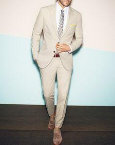 Cream - Linen Suits