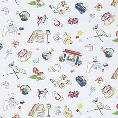 Birthday | The story of the brand told in print form, with 22 different illustrations showing favourite designs and moments from our history | Cath Kidston Classic AW13 |