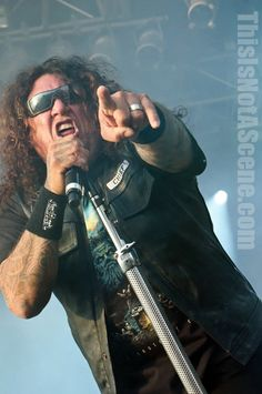 With back to back scorching releases Testament tears the crowd a new one at Bloodstock Open Air Festival 2012 on the Ronnie James Dio stage.
