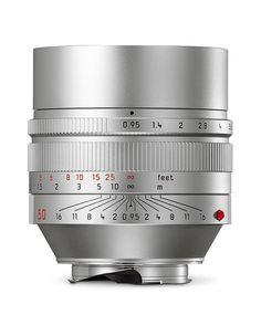 Leica-Noctilux-M-f0.95-silver-lens