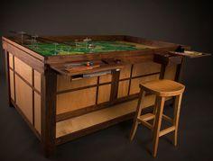 Mesas para jogar cartas e jogos de tabuleiro