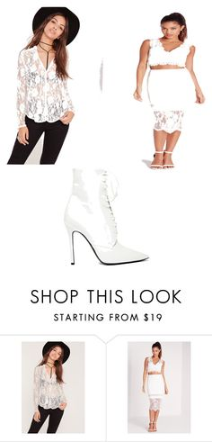 """""""Untitled #4037"""" by clarry-sinclair ❤ liked on Polyvore featuring Missguided and Yang Li"""