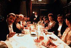 """""""Les Gens de Dublin"""", de John Huston, programmé le jeudi 03/03 à 19h. Film reprogrammé le dimanche 06/03 à 14h30. http://www.forumdesimages.fr/les-programmes/manger/les-gens-de-dublin"""