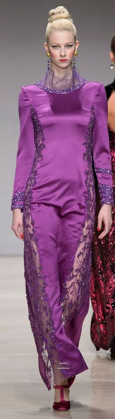 Raffaella Curiel Couture Fall-winter 2015-2016