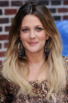 Drew Barrymore hair: Dip-dye diva<<< IM GETTING THIS, THIS WEEKEND!!!! EEEEEP