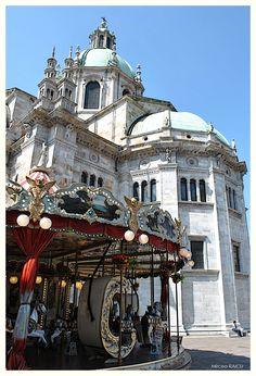 La cathédrale Santa Maria Assunta de Côme Italie