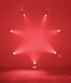 Ann Veronica Janssens - Rose, 2007. Add different gels and this could make for a great interactive display in a hospital.