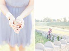 Autumn Engagement Photos. Glass Jar Photo