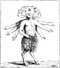 PRODIGIOUS MONSTER TAKEN IN THE MOUNTAINS OF ZARDANA IN SPAIN, 1655.