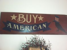 One of our Americana stencils