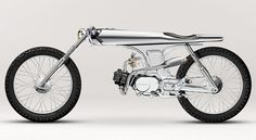 Bandit9 Shows Eve, an All-Chrome Breathtaking Sport Moped