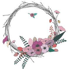 꽃, 나뭇가지, 화관, 화환, 리스, 봄, 나뭇잎, 결혼, 청첩장, 초대장, 라벨, 꽃장식, 꽃다발