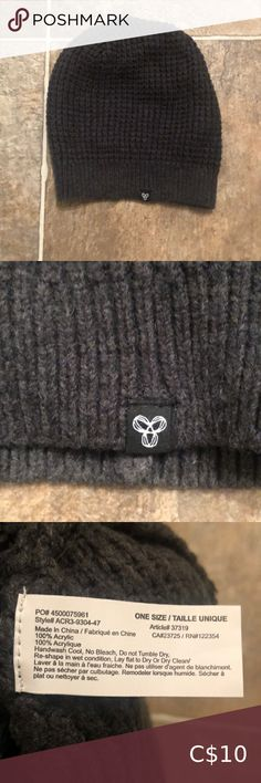 TNA toque TNA toque in excellent condition, charcoal grey. Charcoal, Women Accessories, Black And Grey, Crochet Hats, Closet, Things To Sell, China, Knitting Hats, Armoire