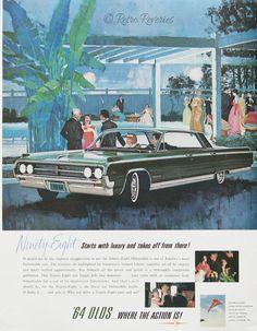 1964 Oldsmobile 98 Advertisement - #RetroReveries