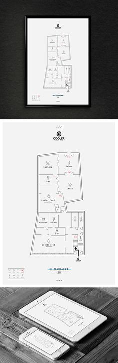 Floor Plan | Cooler Club Katowice Poland on Behance