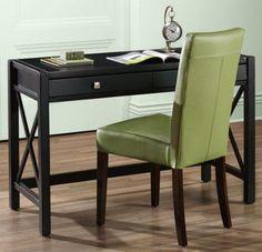 """Anna Desk, 26.11""""Hx47""""W, ANTIQUE BLACK Home Decorators Collection http://www.amazon.com/dp/B001FDAF1U/ref=cm_sw_r_pi_dp_R-tYtb10KTKZY2KW"""