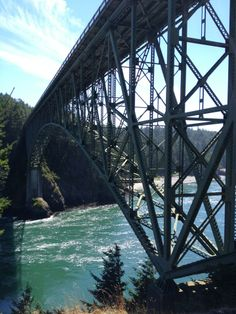 Deception Pass is a short boat ride and drive from La Conner - it has amazing views of the ocean and a huge park with hiking trails, beach access, and more!