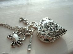 Hey, I found this really awesome Etsy listing at https://www.etsy.com/listing/91514000/little-mermaid-heart-pocket-watch