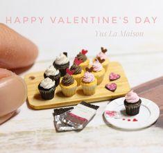 2018.02 Miniature Cupcakes ♡ ♡ By Yus La Maison