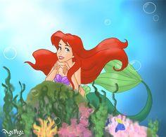 Daydreaming Ariel