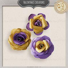 Flowers Pack 37 by #valentina #theStudio #flowers #digiscrap #cu