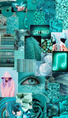 turquoise wallpaper 💙 💚