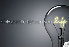 When you're feeling dim ... think of your nerve system as electrical wires and your body as a 100-watt light bulb connected to it. When the wires are clear and electricity flows freely, your bulb glows to 100 watts. But if power is restricted in the wires, your bulb dims.