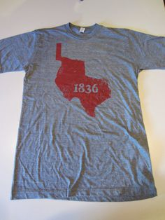 Republic of Texas 1836 T-shirt #shoptwt