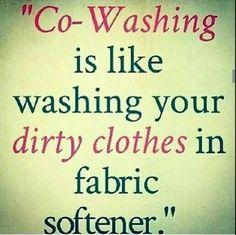 Think about it! #NoCoWash