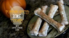 Pumpkin Spiced Bone Cookies - The Man, The Chef, The Dad