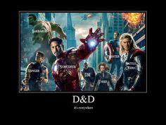 (Dungeons and Dragons) hahaha
