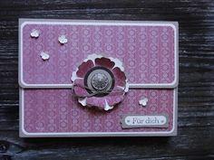 Kreativ am Deich : .....Karten-Box-Tasche für DIN A 5 - Karten mit kleiner Anleitung ....
