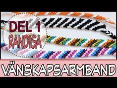 KNYTA VÄNSKAPSARMBAND | Del 1 (randiga) - YouTube Friendship Bracelets, Youtube, Youtubers, Youtube Movies, Friendship Bra