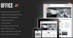 Премиум шаблон для WordPress Office25.05.2012