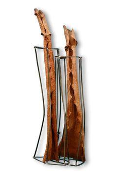 Carme Roher  Brooch: Olvidado 2 2012  Silver, plant, nickel silver