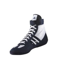 the best attitude 4bcf3 66783 Adidas Combat Speed 4 Boxing Boots Wrestling Adults Kids - Navy White   Boxing Boots  Boxing