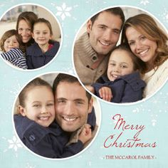Mixbook Snowflake Year in Review Holiday Photo Cards