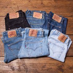 Womens Vintage Levis 501 Mom Boyfriend Jeans Grade A High Waisted 26 27 28 29 30