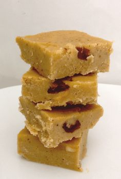 Chickpea fudge with canned or cooked chickpeas instead of besan flour, no granulated sugar in this recipe (she's using agave) wonder if it would work with processed dates?