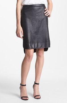 Leather skirt $158
