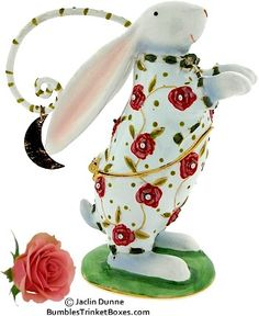 Trinket Box: Joyful Rabbit