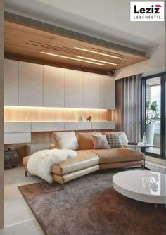 Best Wonderful Design Ceiling Design Ideass For You We've seen our fair ration of creative . Ceiling Design Living Room, False Ceiling Design, Living Room Designs, Plafond Design, Interior Lighting, Conception, Decoration, Luxury Homes, Interior Design