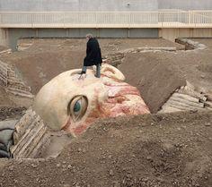 Jan Fabre - From The Feet To The Brain - http://www.artnau.com/2014/04/jan-fabre/