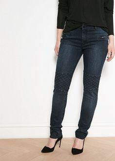 Mango Violeta Slim-fit Colchi jeans (MOTO!)