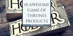 10 Awesome Game of Thrones Products Gifts Blanket Hodor Trivia Winter is Coming