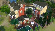 Mod The Sims - Windenburg's island mansion