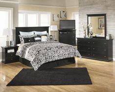 Ashley Maribel 4-Piece King Headboard Bedroom Set