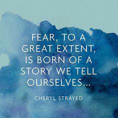 Medo, por Cheryl Strayed