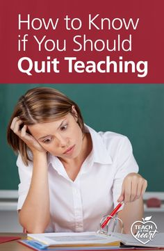 this post has 6 questions to ask if youre wondering if you should quit teaching